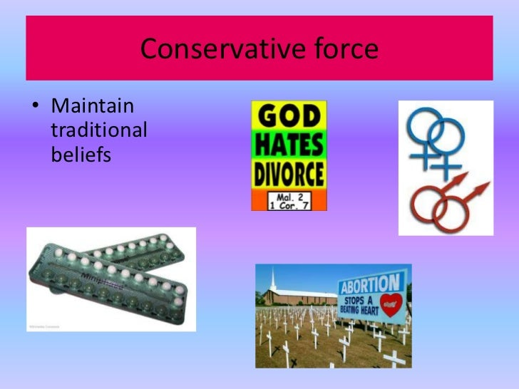 religion as a conservative force White evangelical protestants remain the dominant religious force in the   young jewish americans affiliate with the conservative movement,.