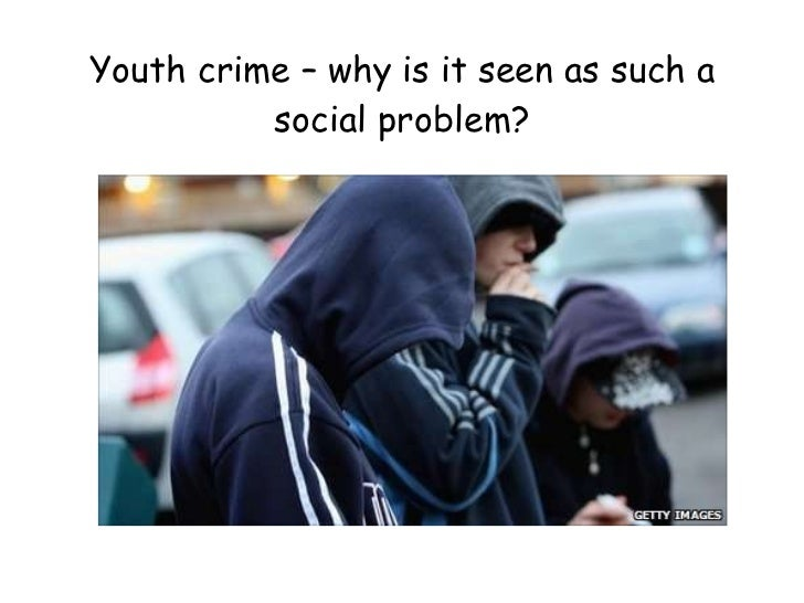 Youth crime – why is it seen as such a social problem?