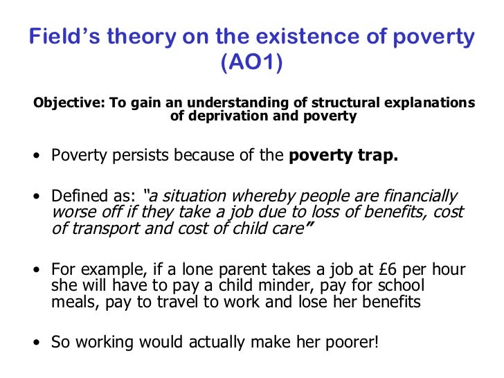 structural theory of poverty Individualistic and structural attributions of poverty in the lds population alex north arwen behrends kayla green luis oquendo tamra dison justin larson yohan delton brigham young university-idaho abstract a significant amount of research has been conducted on the lay attributions of poverty and the subsequent influence on helping.