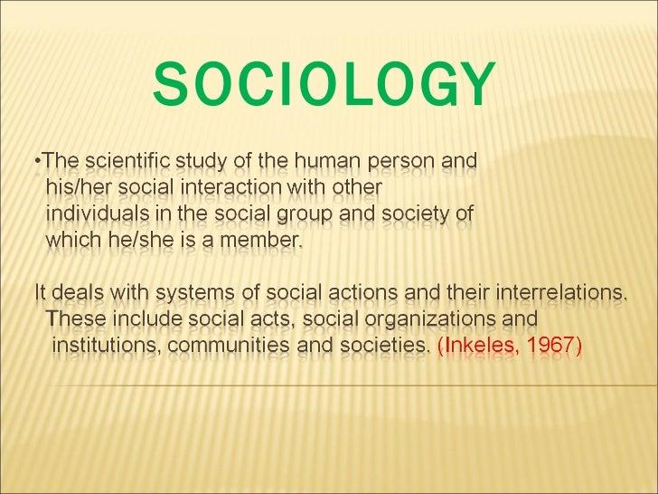 Sociology intro
