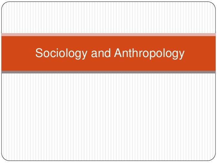 Sociology lesson 1