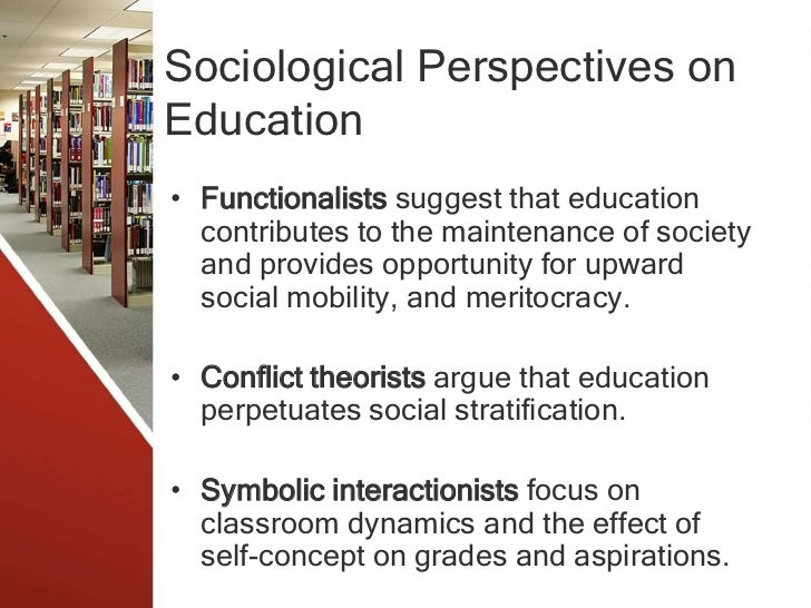 sociology of education essay Essay on the role of education in society education, has a great social importance specially in the modern, complex industrialised societies philosophers of all periods, beginning with ancient stages, devoted to it a great deal of attention.