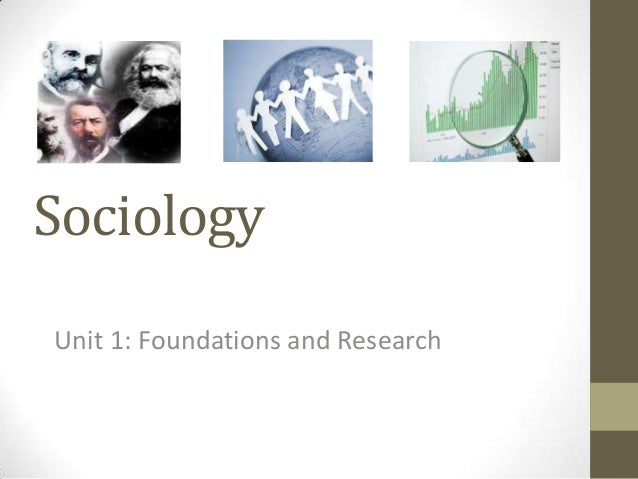 Sociology Unit 1: Foundations and Research