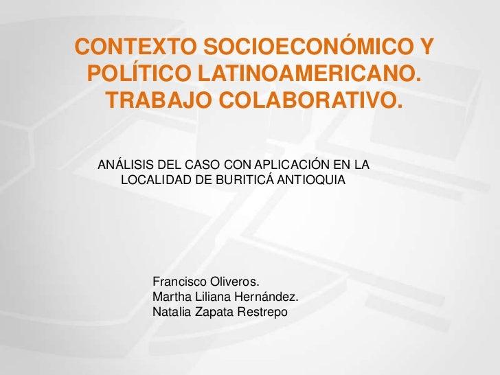 Contexto Buriticá