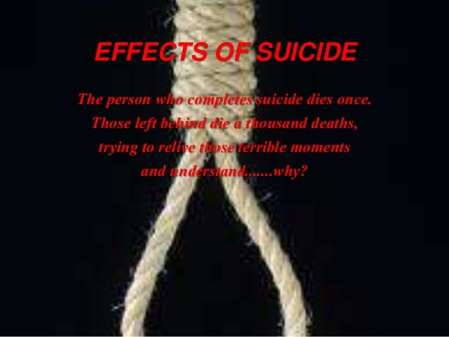 Effects of teen suicide