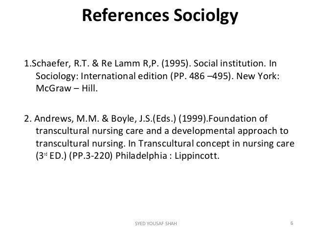 sociolgy coursework