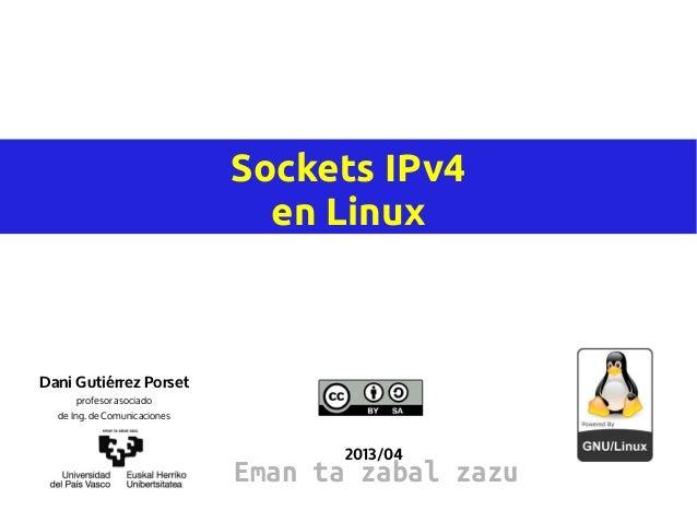 Sockets ipv4