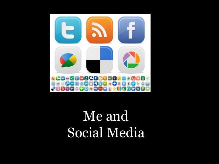 Socmed and me