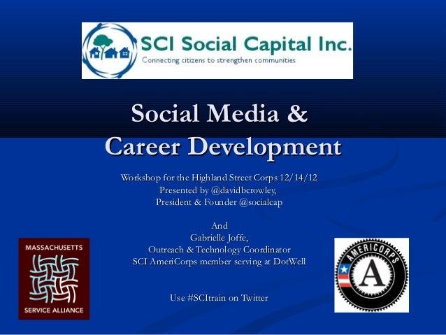 Soc media for prof dev