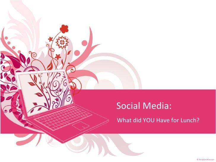 Social Media Presentation: MoBap, 10/14/09