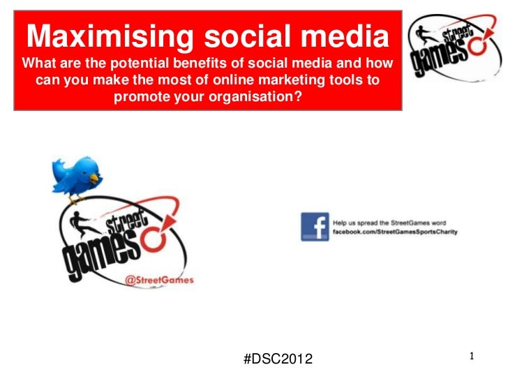 Maximising social media