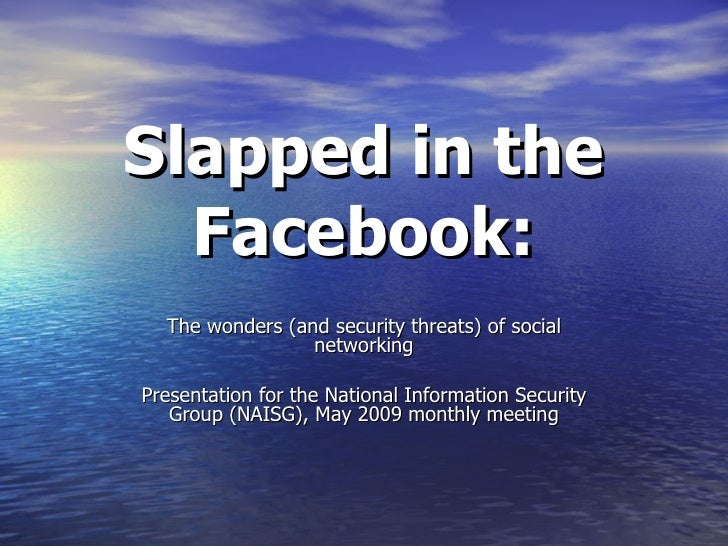 Security Dangers of Social Networking