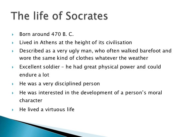 the life and achievements of socrates a philosopher It's therefore very striking to discover that one of ancient greece's great  achievements, philosophy, was highly suspicious of its other achievement,  democracy.