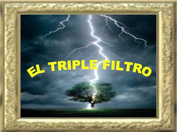 Socrates triple filtro