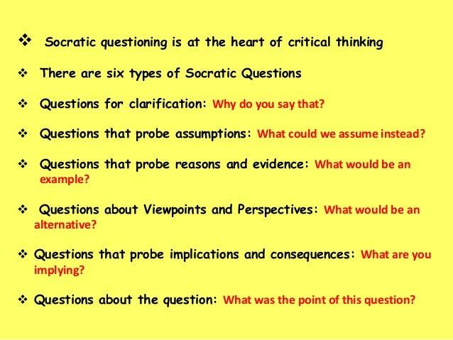 socratic questioning tss
