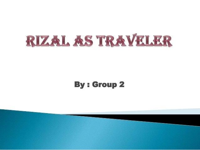 SocSci- Rizal as a Traveler