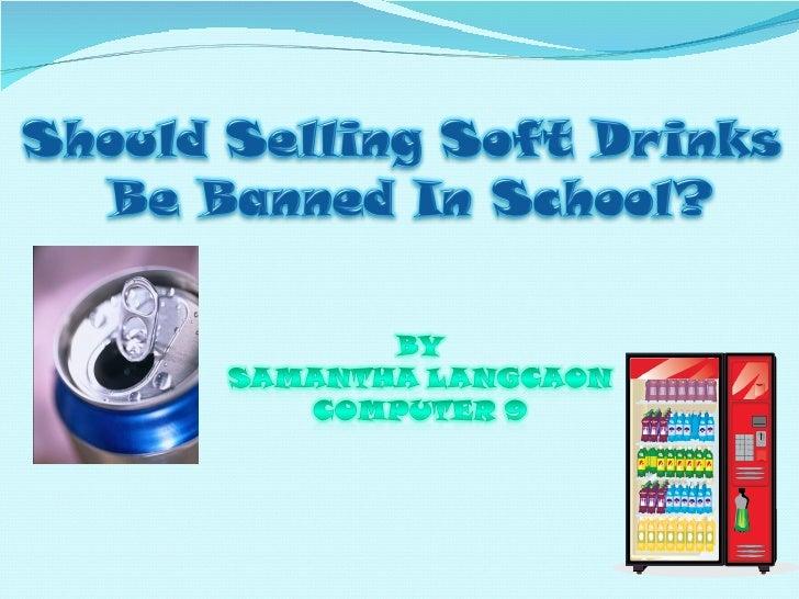 Soda ban ppt