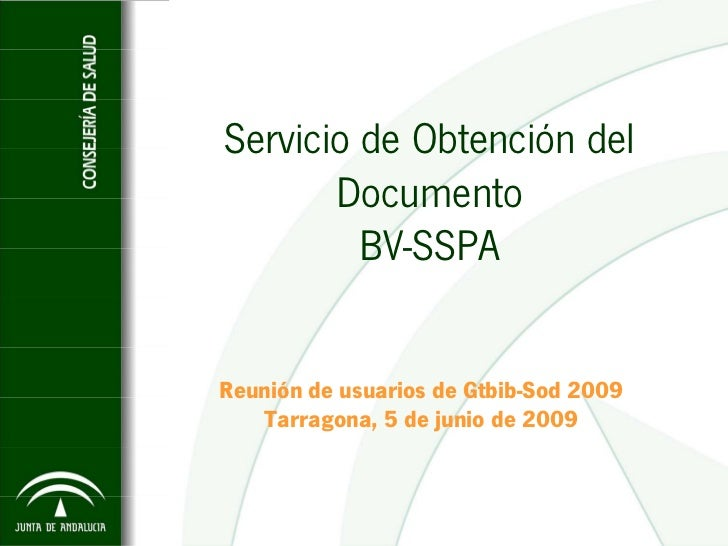 Servicio de Obtencion del Documento BV-SSPA