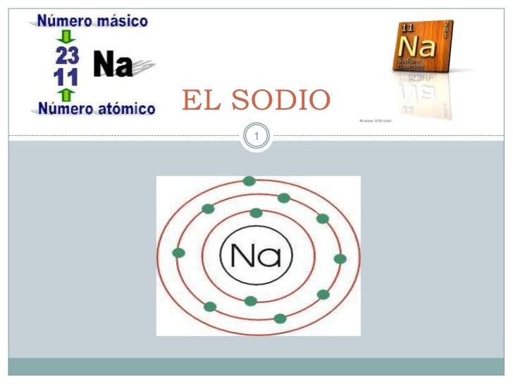 EL SODIO<br />1<br />