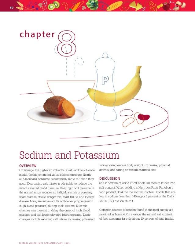 39chapter88SodiumandPotassiumOVERVIEWOnaverage, thehigheranindividual'ssalt(sodiumchloride)intake, thehigheran...