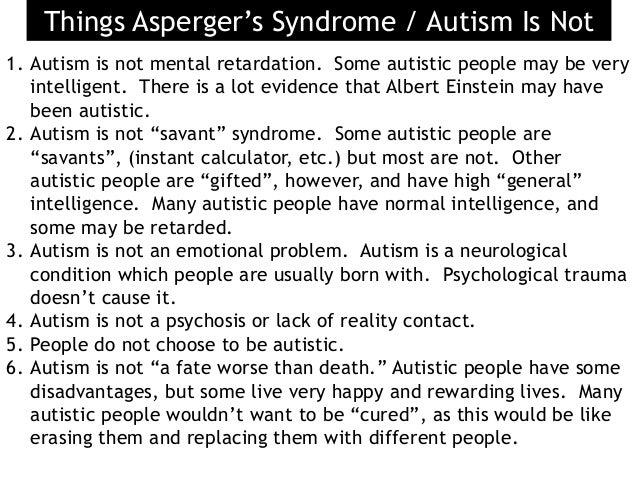 I think that I have Aspergers Syndrome, so what can I do?