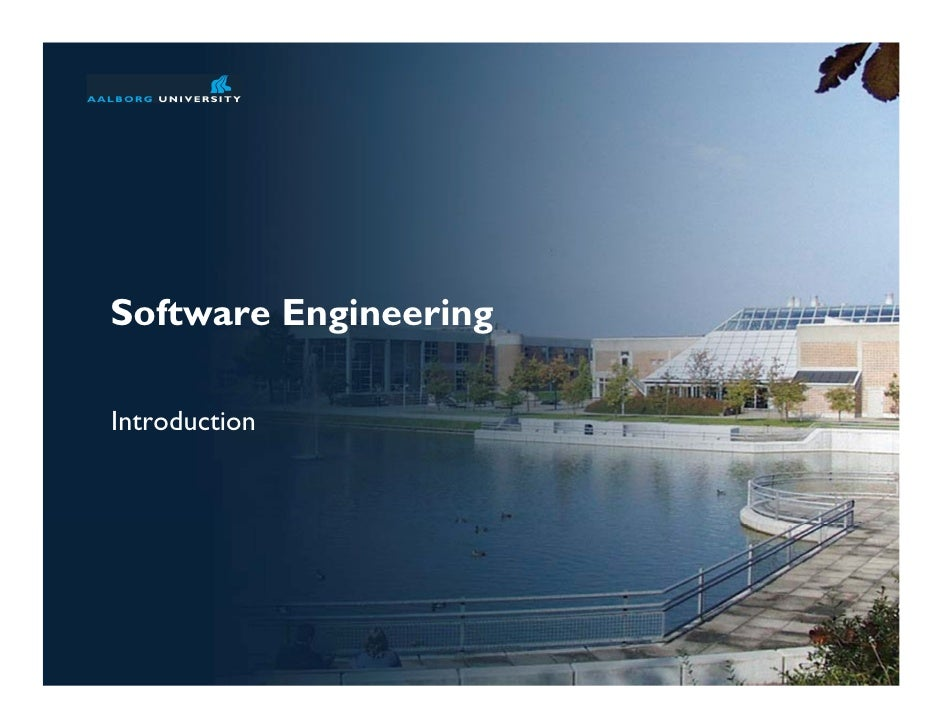 Software Engineering course