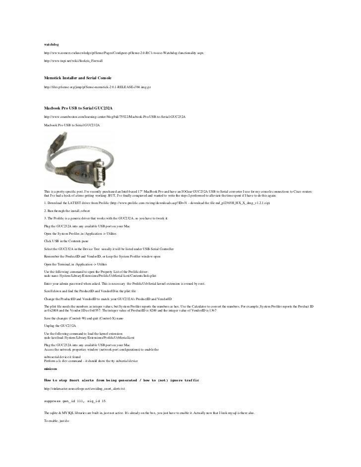 Installation of pfSense on Soekris 6501