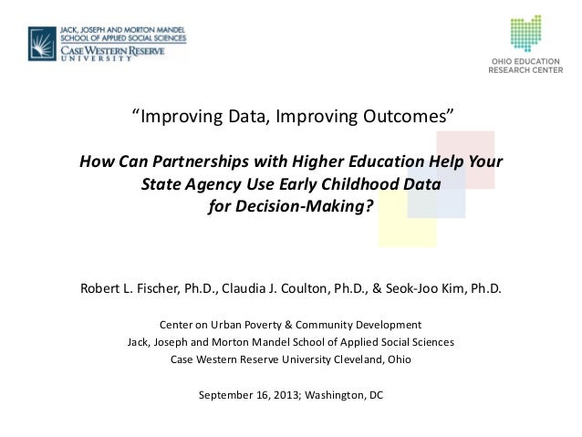 Improving Data, Improving Outcomes