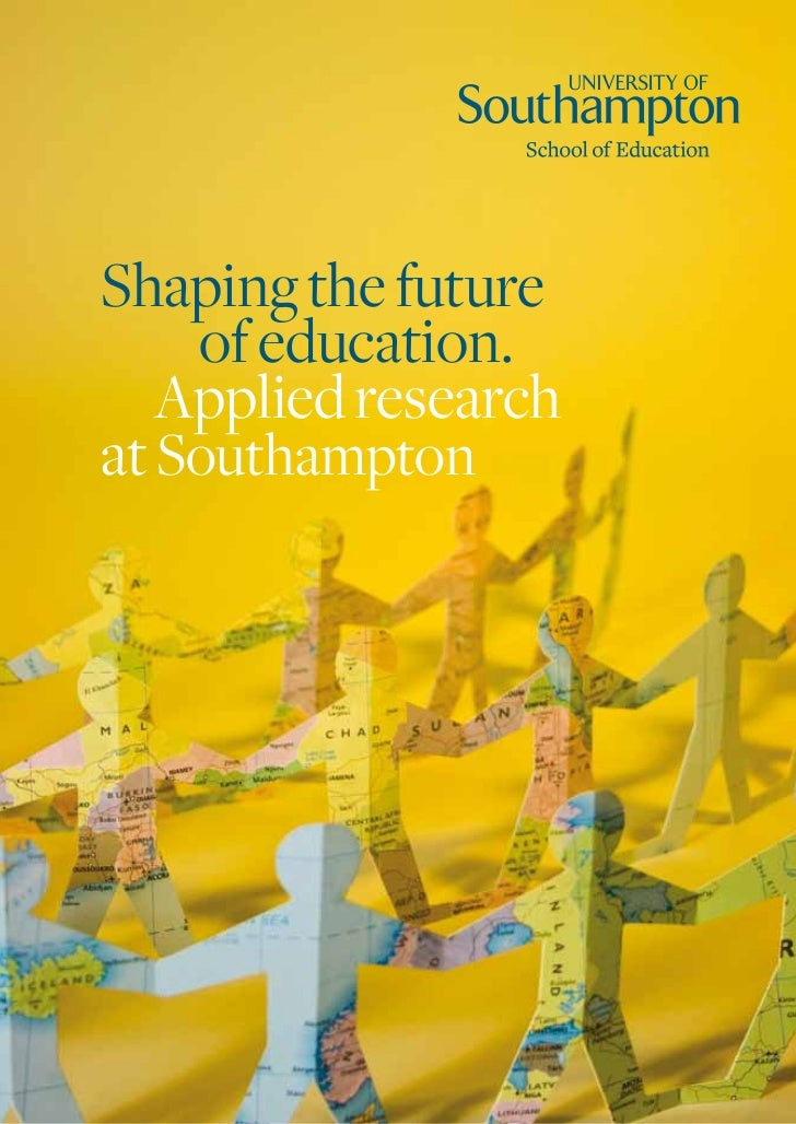 School of Education Research Brochure