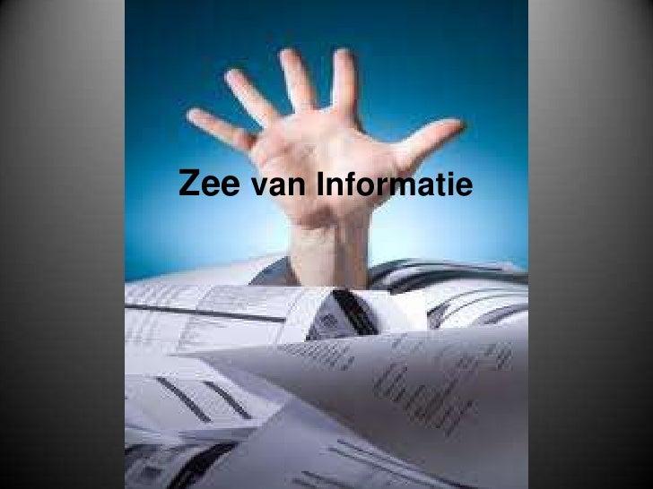 Zee van Informatie<br />