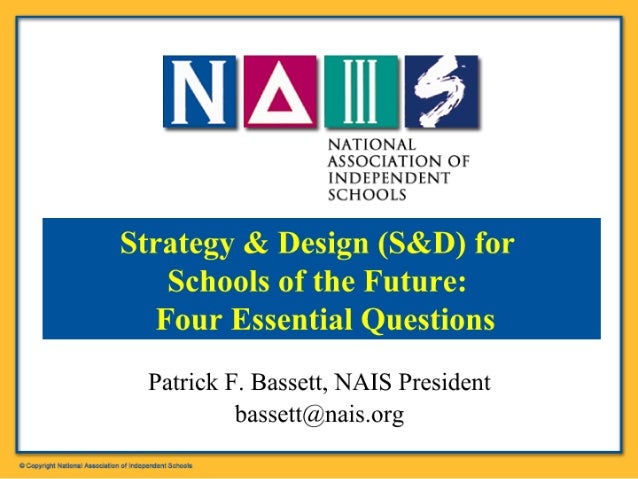Pat Bassett's Strategy and Design