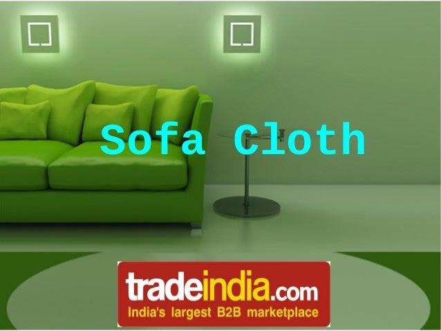 Sofa Cloth