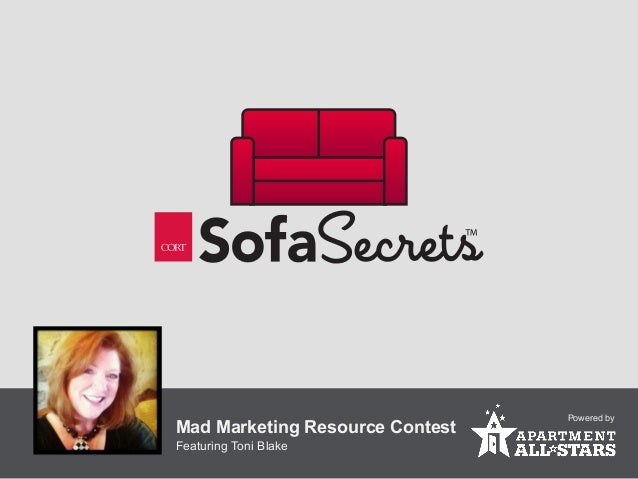 Powered byMad Marketing Resource ContestFeaturing Toni Blake
