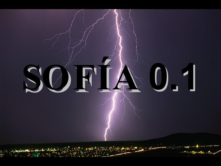 SOFÍA  0.1