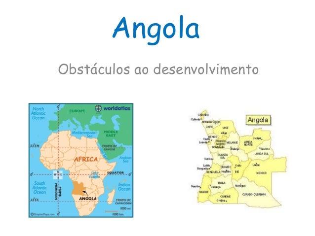 Obstáculos ao desenvolvimento - Angola