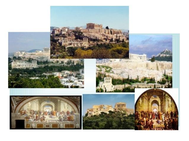 ATENAS EL HOMBRE EN EL CENTRO • Desde el 450 A.c. Atenas se convirtió en el centro cultural de Grecia y el interés comenzó...
