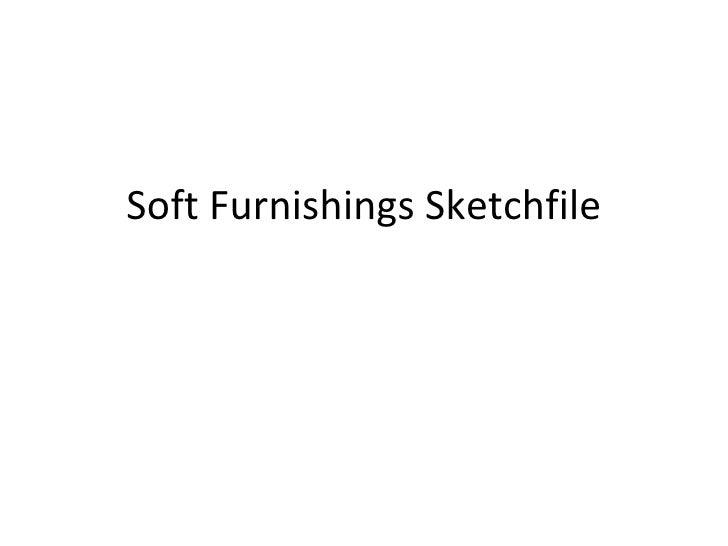 Soft Furnishings Sketchfile
