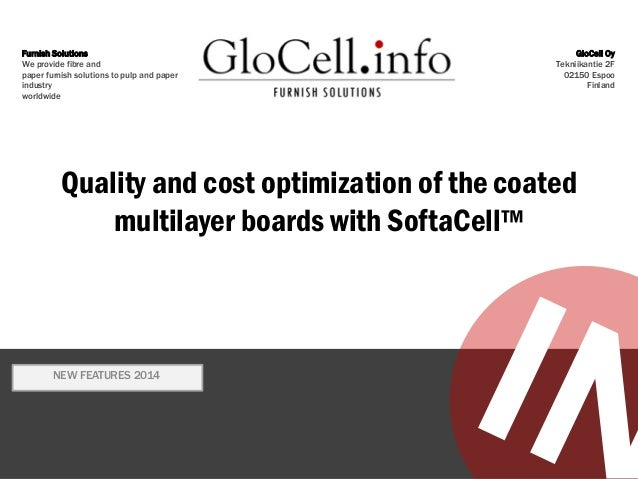 SoftaCell 2014 New coated multilayerboard tool