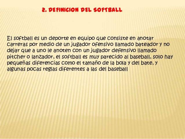 Softball trabajo te rico for Jardinero definicion