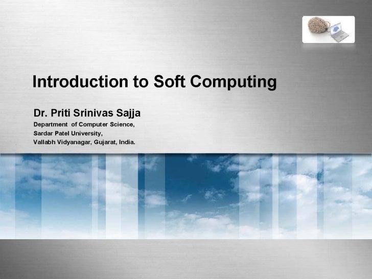 Soft computing  and fuzzy logic 2012
