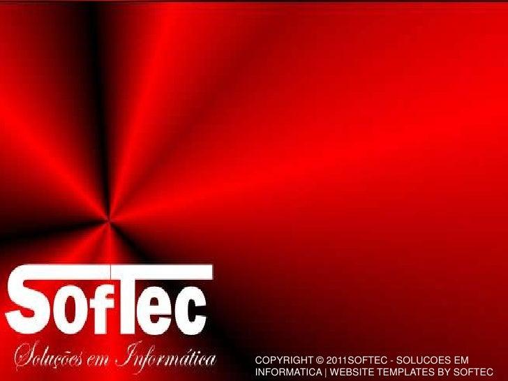 SOFTEC - Apresentação