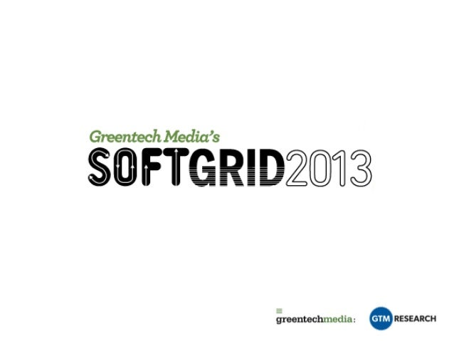 The Soft Grid 2013 Opening Presentation