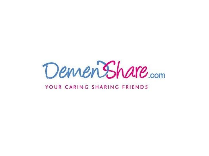 DemenShare soft launch demo