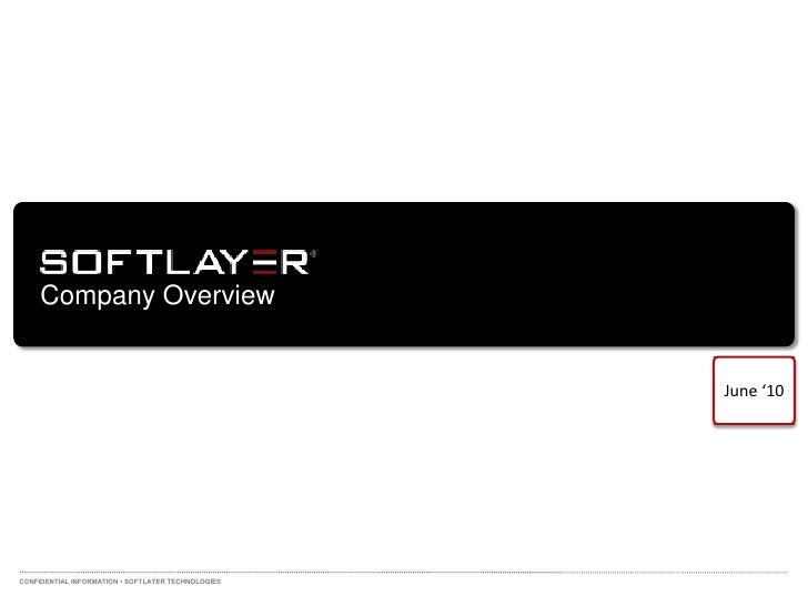 SoftLayer overview for Telx CBX Jun10 Final