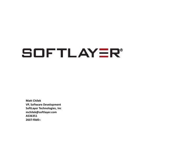 Softlayer Technologies texasipv6taskforce