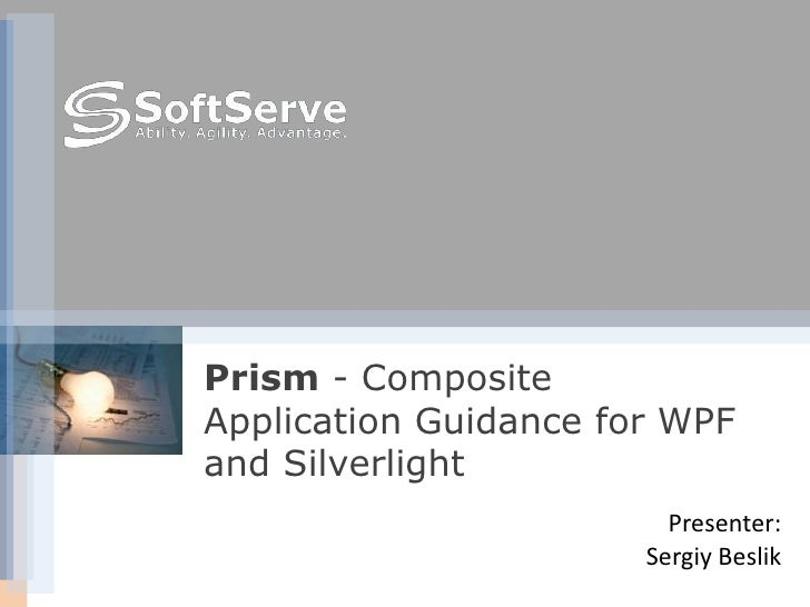 Soft serve prism