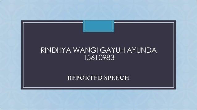 RINDHYA WANGI GAYUH AYUNDA C 15610983