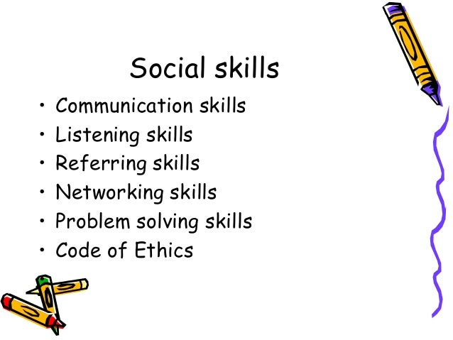 Social skills problem solving