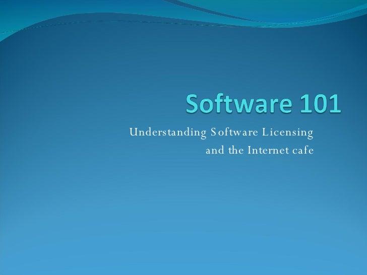 internet cafe software 101 training