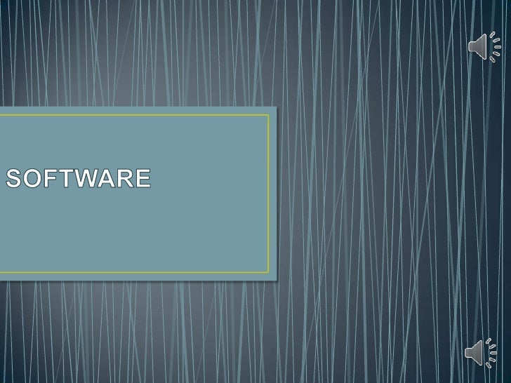SOFTWARE<br />